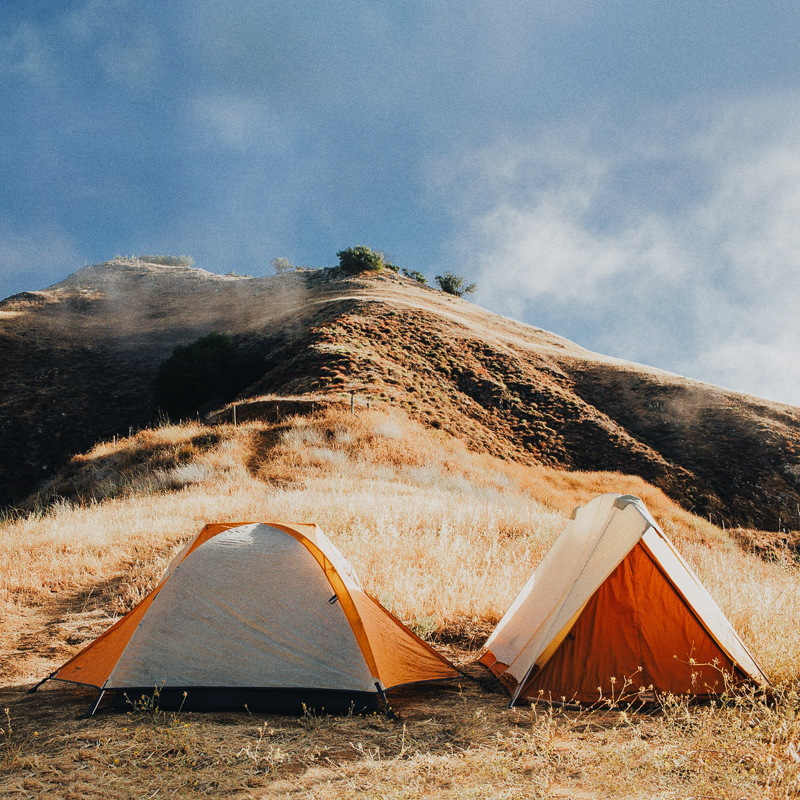 free dispersed camping in big sur highway 1 california