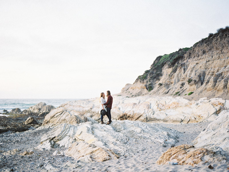 fuji400h anniversary portrait session on the central coast of california